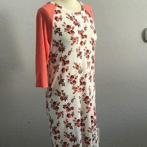 Mikarose baseball 3/4 sleeve dress